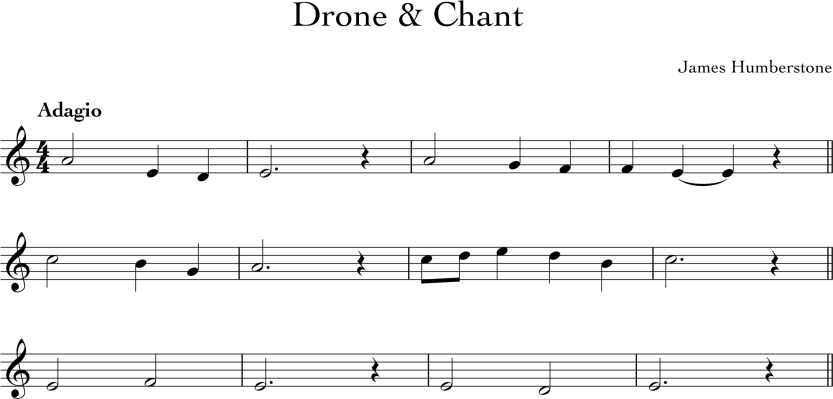 Drone and Chant