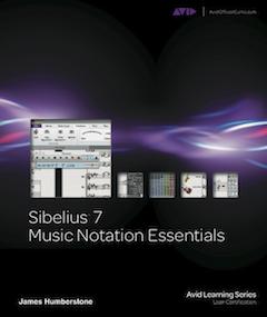 Sibelius 7 book