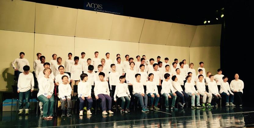 2015 AMIS Asian Honor Boys' Choir